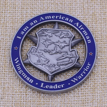 Customized antique silver old commemoration coin