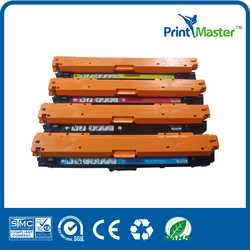 Premium compatible CE740,741,742,743 laser toner cartridge for hp CP5225/n/dn