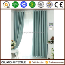 2014 New Arrrival Thermal Insulated polyester non-toxic blackout eyelet curtains