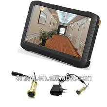 Wireless peephole camera door viewer(100m transmit range,motion detection,loop recording)