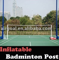 Badminton Description(Inflatable Portable Badminton Net Post)