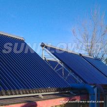 Split pressurized solar hot water