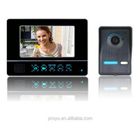 wireless intercom system camera auto detection video taking
