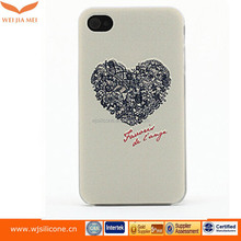 Heart shape cell phone case for iphone 6s case