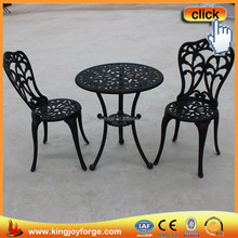 Tulip pattern cheap cafe tables and chairs, garden furniture