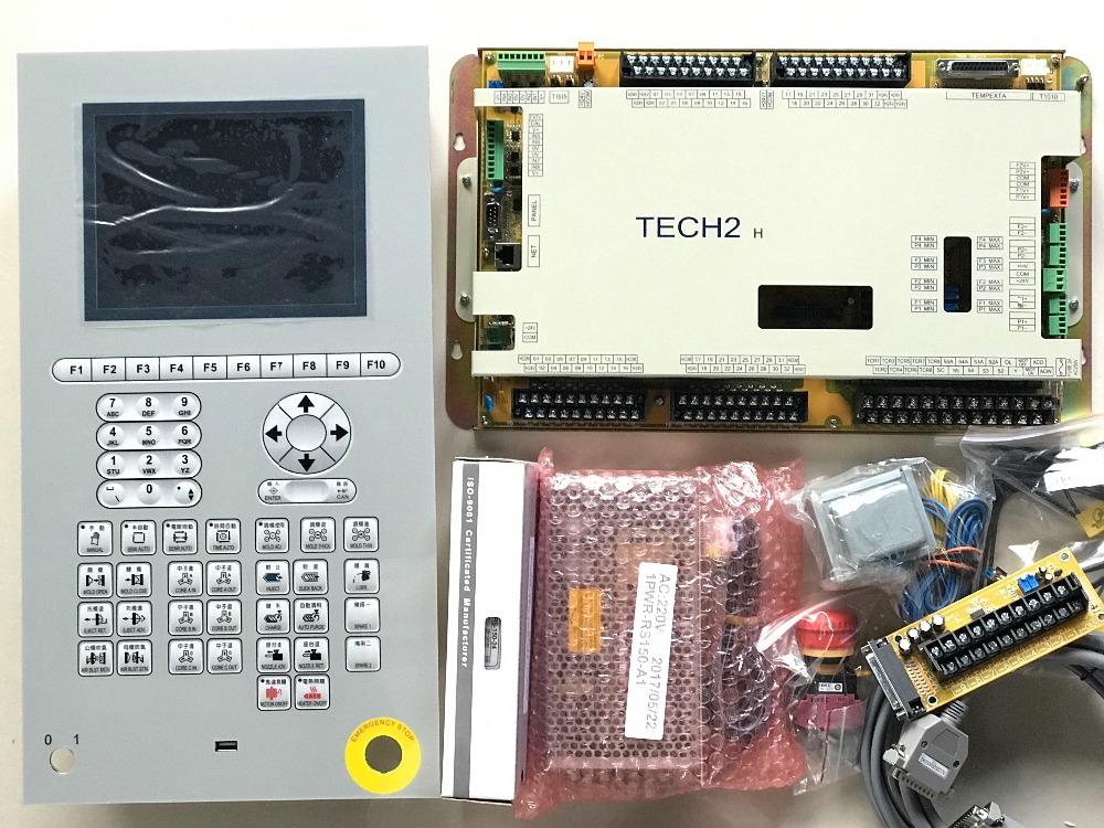 Techmation Tech2 Hmi Q8m Complete Set Control System For