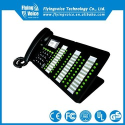 2016 new products! IP652W 5 lines wireless wifi sip desk phone with POE