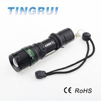 Best 0.5w led mini blacklight flashlight 3*AAA battery