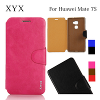 Mix color smart mobile phone accessories leather case for huawei ascend mate 7 s