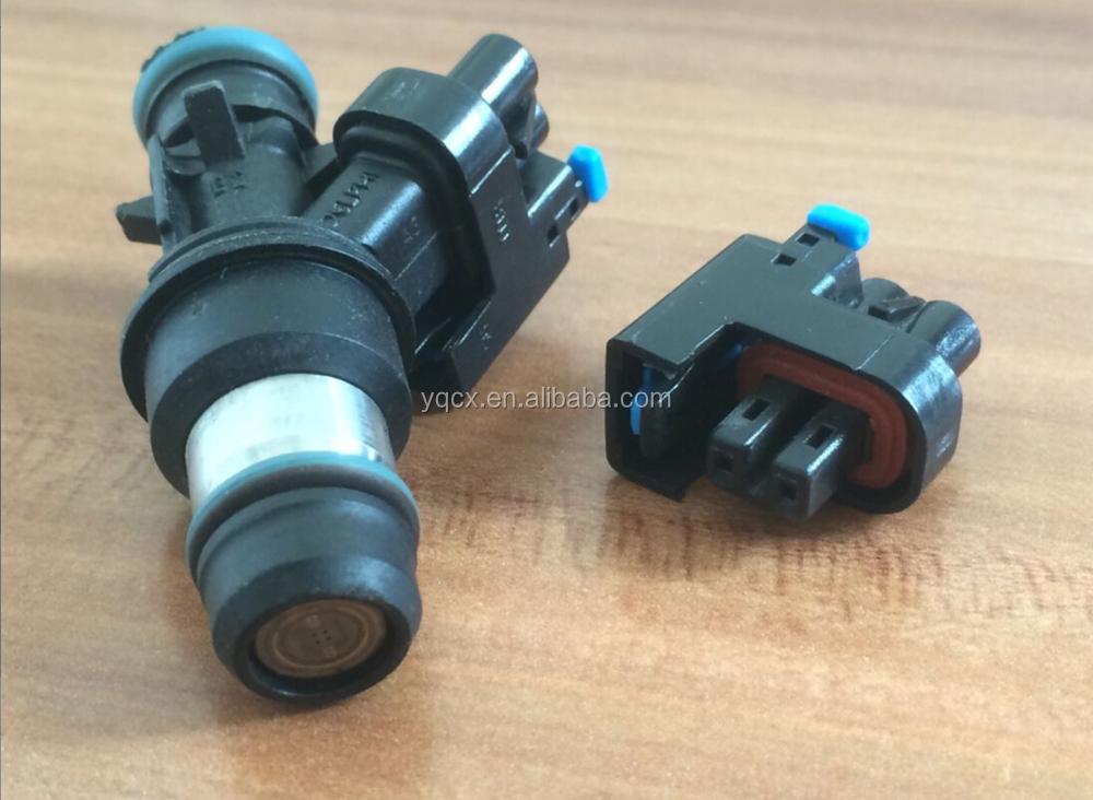 Fuel injector sensor gm mini delphi connector auto