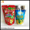 Wholesale 200ml stand up fruit Juice Pouch with hole for straw
