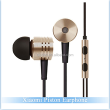 Original XIAOMI Piston 2 Earphone with Remote and Microphone for XIAOMI Smartphone/Tablet or Android phones Xiaomi earphone