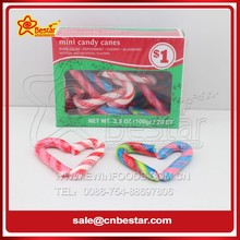 Mini Fruty Candy Canes Lollipop Christmas Gift