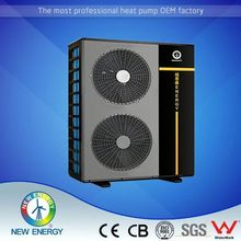 Customized High Efficiency Air Source DC Inverter tuv certified air to water heat pump compact
