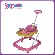 8 wheels plastic OEM baby walker with music and many toys /children walker