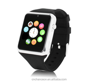2015New fashion High quality multi function Bluetooth smart watch mobile Phone and phone CO-UWA-603