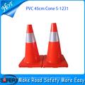 2014 venda quente cone de segurança amarelo para o tráfego para a venda