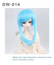 good quality amazing straight hair wig synthetic cosplay doll hair wig wholesale