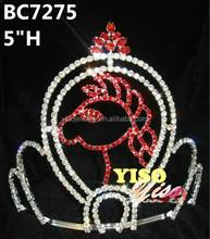 best sale wholesale horse children tiara comb