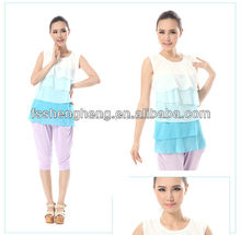 custom-made short deliver time Chinese maternity clothing manufacture jun xin
