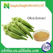 100% pure natural Okra Extract Powder 5:1 10:1 20:1