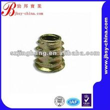 2015 shenzhen jingbang suppliers insert nuts for wood insert nuts m3