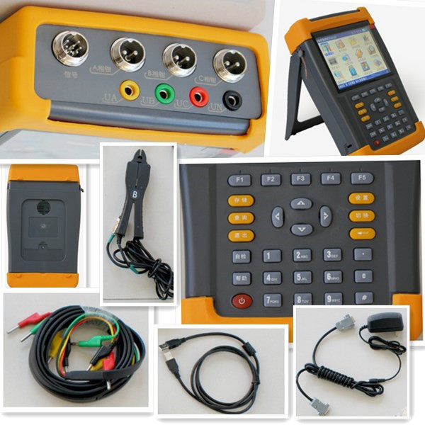 Portable Electric Power Meter : Electric meter a portable multifunction power quality