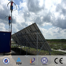 Wind Solar Off-grid system with CE Patents