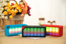 2015 Newest Bluetooth Speaker with led light,Fashion Mini Portable Bluetooth Woofer Speaker