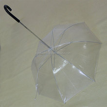 transparent upside down pet dog umbrella