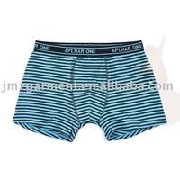 European stylish men's printed boxer underwear