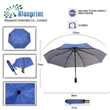 la calidad especial de regalo paraguas veces tela jeans