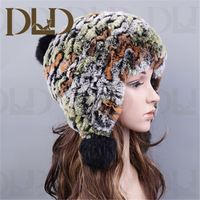 China factory direct supply 2012 rabbit fur hat