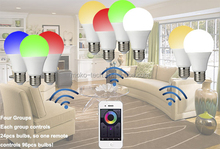 Bluetooth LED Light Dimmable Multicolored Color Changing Flux Bluetooth LED Light Bulb LED Lights bluetooth