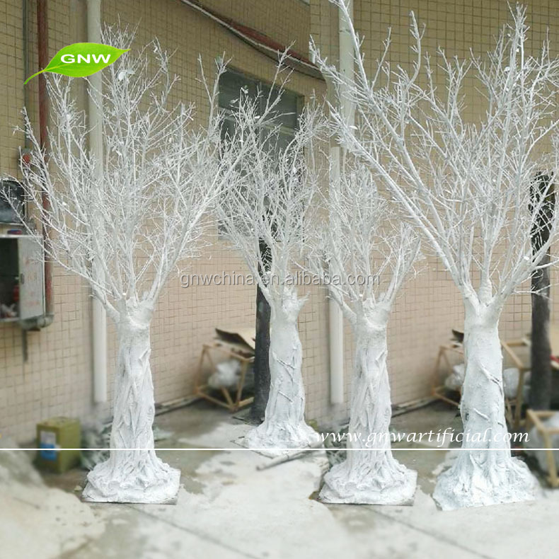 Gnw wtr artificial dry trees white branch table