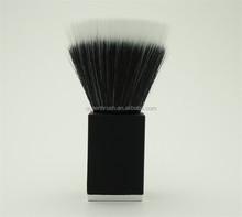 Black Make Up Brush Synthetic Powder Kabuki Brush Square