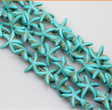 15mm many girls love star shape green color gemstone bead