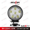 Top quality 18W off road vehicle lights, Led Work Light 48W 18w 27w Led Work Light