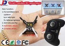 new JXD 502 the world smallest RC quadcopter 2.4G 4 ch super mini RC drone compass mode automatic return