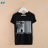 Korean Style Fashion New Baby Kids Boys Children's Short Sleeve O-neck T-shirt