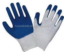 10G bleach cotton good quality low price cheap latex gloves smooth finish free sample