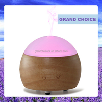 MN201270 Natural Wood and Glass Ultrasonic Essential Oil Diffuser
