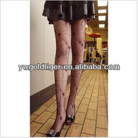 Art Design Winter Hollow Star Halloween Gothic Spider Web Fancy Dress Party Fishnet Sheer stocking Sexy Women Pantyhose