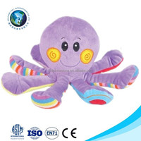 Custom purple fashion soft toy octopus pp cotton emoji pillow octopus plush toy cheap fashion stuffed plush octopus plush toy