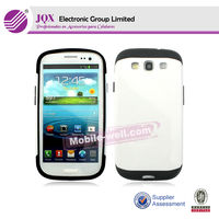 High quality 2 in 1 hard PC+TPU protector case for Samsung Galaxy S3 i9300