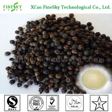 Natural negro pepper, piperina CAS94-62-2