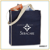 Fashion Silkscreen Print Non Woven Shopping Bag In Promotional