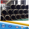 heat resistance pre-insulated steel pipeline buried underground