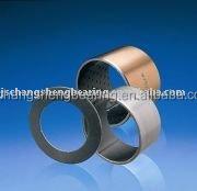 Sliding bearing bush, composite oilless bushing plate washer strips