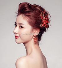 2015 new fashion beautiful bride headwear crystal phoenix Bridal Headpiece
